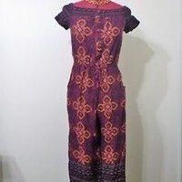 XHILIRATION from TARGET floral jumpsuit long, Xhiliration brand size M preowned