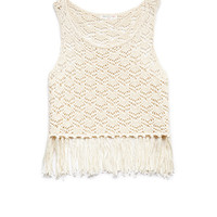 Crocheted Fringe Tank (Kids)