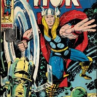 Roommates Rmk1648Slg Thor Peel And Stick Comic Book Cover