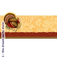 Thanksgiving Blessing Place Cards (12) - Multi-colored