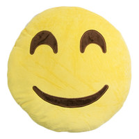 HAPPY FACE EMOJI PILLOW