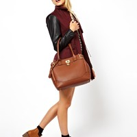 ASOS Bag With Side Straps And Metal Keepers