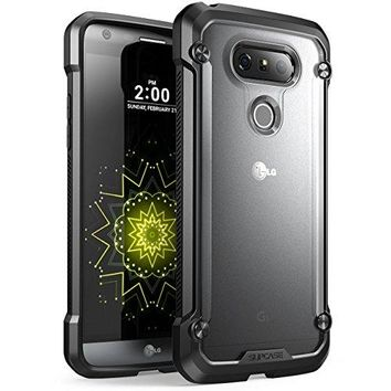 LG G5 Case, SUPCASE Unicorn Beetle Series Premium Hybrid Protective Clear Case for LG G5 2016 Release, Retail Package (Frost/Black)
