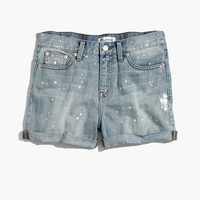 Denim Boyshorts: Painter Edition