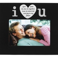 Malden I Love U Positive Images Fashion Frame, 4-Inch by 6-Inch