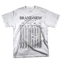 Train on White by Brand New