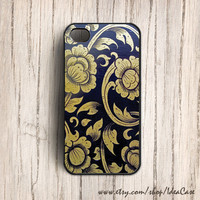 Thai Gold Pattern Case , iphone 5 case , iPhone Case , Unique iPhone Case , Flower iPhone 4 Case , Plastic Hard case by IdeaCase