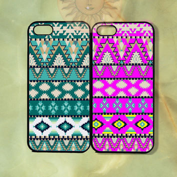 Customized Aztec Couple Best Friend Case-iPhone 5, 5s, 5c, 4s, 4 case, Ipod touch 5, Samsung GS3, GS4-Rubber, Hard Plastic Case, Phone cover