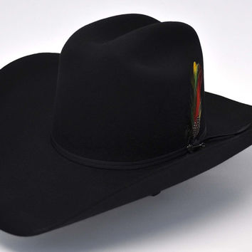 Stetson Rancher 6X Fur Felt Hat-Black