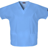 Cherokee Scrub Top Workwear Women's V-neck 4700 - Ciel Blue