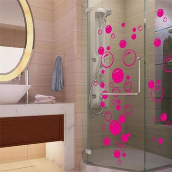 DCCKL72 Nursery kitchen bathroom Bubble wall sticker removable waterproofing home wall decal PVC wall sticker