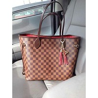 LV Tide brand classic wild women's shopping bag Tote bag handbag two-piece