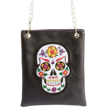 Casual Outfitters™ Ladies' Sugar Skull Purse