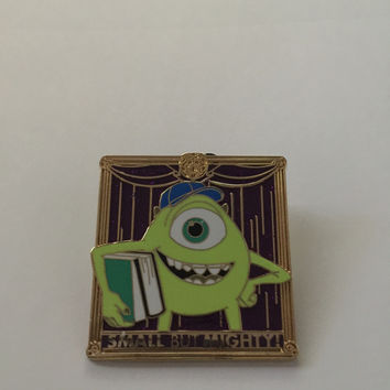 disney imagination gala event 2014 small but mighty mike wazowski pin new