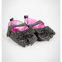 Mary Janes with Studded Bow Infant Shoes