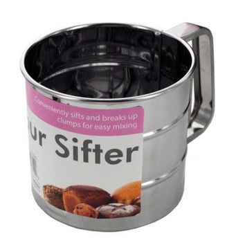 Metal Flour Sifter ( Case of 18 )