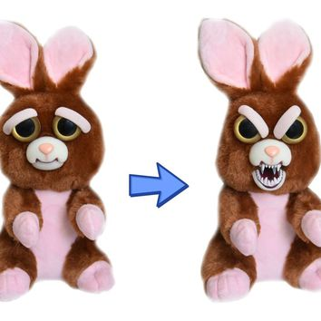 "Feisty Pets Vicky Vicious: Adorable 9"" Plush Stuffed Bunny"