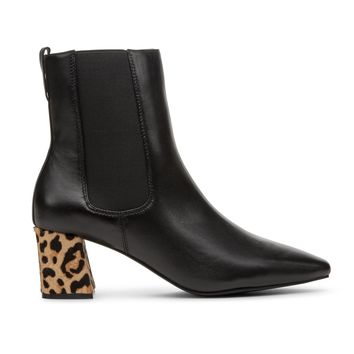 Matisse Off Duty Leopard Animal Print Ankle Boots