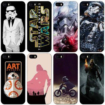 star wars Child in the brain Black Plastic Case Cover Shell for iPhone Apple 4 4s 5 5s SE 5c 6 6s 7 Plus