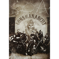 Sons Of Anarchy Subway Poster