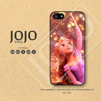 Disney iPhone 5 Case iPhone 5c Case iPhone 4 Case iPhone 5s Case iPhone 4s Case Disney Tangled Phone Cases Phone Covers - J187