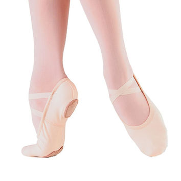 So Danca SD16 Adult Canvas Split Sole Ballet Shoe