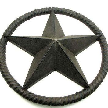 Cast Iron Rope Star
