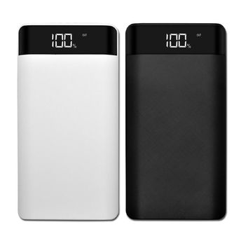 DC 5V 2A Power Bank Case Kit 8 x 18650 DIY Battery Charger Case Box LCD Display Powerbank Case Shell For Cell Phone