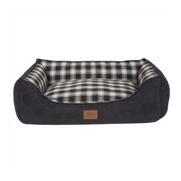 Pendleton Kuddler Dog Bed — Charcoal Ombre