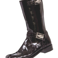 "Mauri - 44224 ""Uptown"" Alligator/Dover Calf Boot"