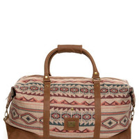 Obey Sierra Duffel Bag - Southwest Print Bag - $90.00