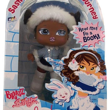 Bratz Babyz Sashas North Pole Journey Storybook Collection African American Doll