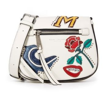 MJ Collage Small Nomad Saddle Bag