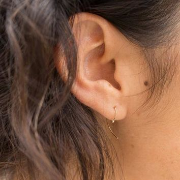 Kathleen Whitaker Gold Loop Earring at General Store