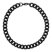 Black Chunky Chain Necklace - Jewelry - Bags & Accessories - Topshop USA