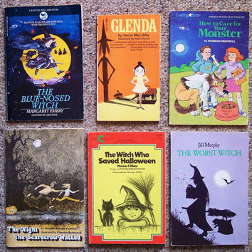 Children's Book Collection - Lot of 12 Halloween Books - Ghosts, Magic, Pumpkins, Haunted House and Witches