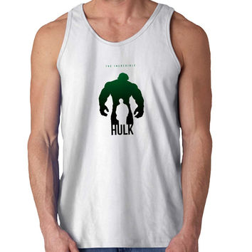 Incredible Hulk Black For Mens Tank Top Fast Shipping For USA special christmas ***