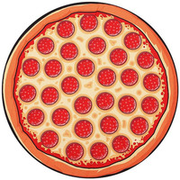 Pizza Beach Blanket and Picnic Pad
