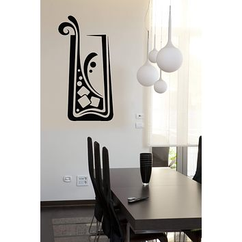 Vinyl Decal Sticker Drinking Collection Cocktail Tumbler Wall Decor (n842)