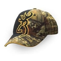 Browning Big Buckmark Hat, Mossy Oak Infinity, Semi-Fitted