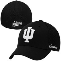 Top of the World Indiana Hoosiers Fairway Fitted Hat - Black