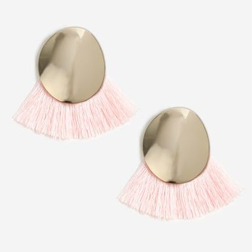Disc and Tassel Stud Earrings - Shop All Sale - Sale