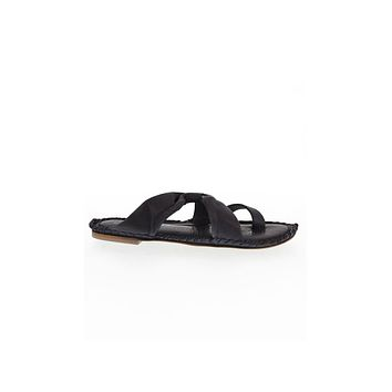 Free People Bailey Slip On Sandals Black