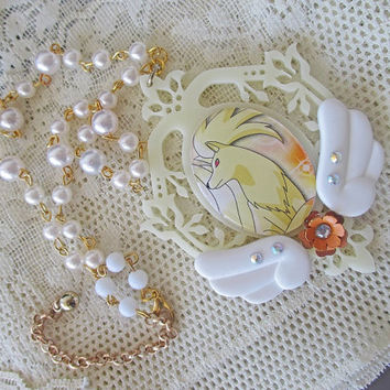 Pokémon Necklace - NINETALES Choker - Gamer Gear