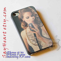 iphone case Lana del rey iphone 4/4s case, iphone 5 case, samsung s3 i9300, samsung s4 i9500, cover plastic