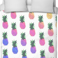 Colorful Pineapple Blanket Cover
