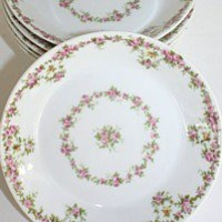 Set 10 Antique French Wm. Guerin Cie Limoges Pin