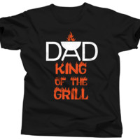 Dad King Of The Grill Shirt
