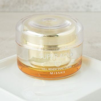 MISSHA Super Aqua Cell Renew Snail Cream – Soko Glam