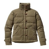 Patagonia Women's Toggle Down Canvas Jacket